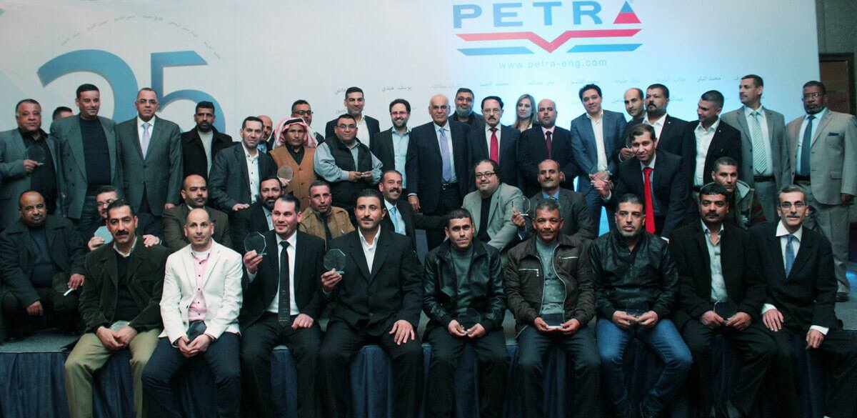 Petra Honors its Employees
